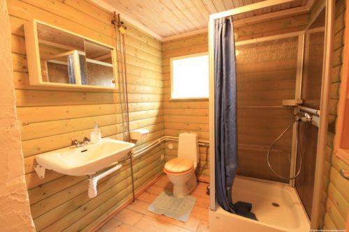 Badezimmer – Ferienhaus Majblomme