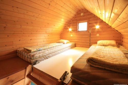 Schlafboden – Ferienhaus Majblomme