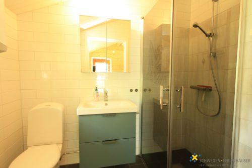 (dazu buchbar) Gästehaus Badezimmer – Ferienhaus Sjöstugan Åsunden