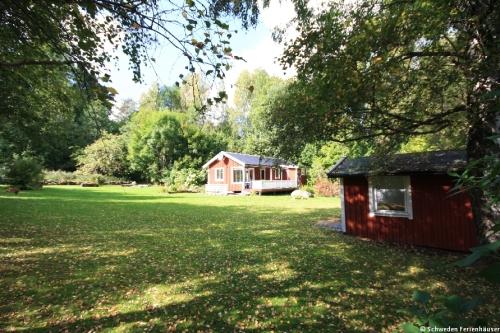 Blick auf das Ferienhaus – Ferienhaus Lindholm