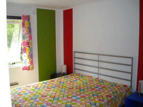 Schlafzimmer 1 – Ferienhaus Bred