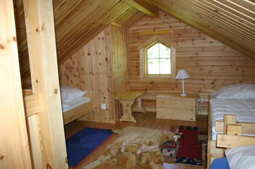 Schlafloft - Ferienhaus Gröna Huset