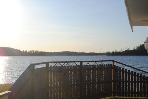 Blick von der Terrasse - Ferienhaus John 9
