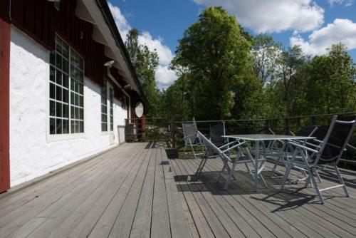 Terrasse - Ferienhaus Karn