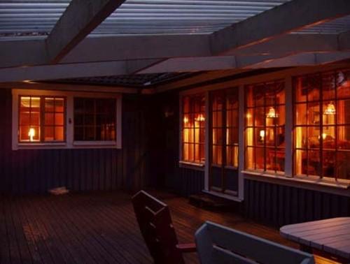 überdachte Terrasse – Ferienhaus Kim