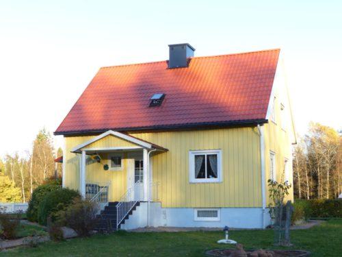 Außenansicht – Ferienhaus Mårdaklev