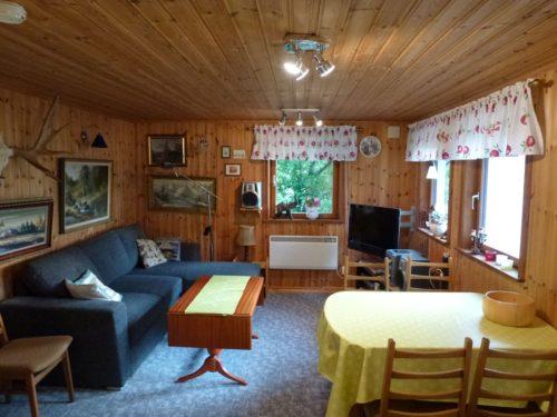 Wohn- /Essbereich– Ferienhaus Öresjö