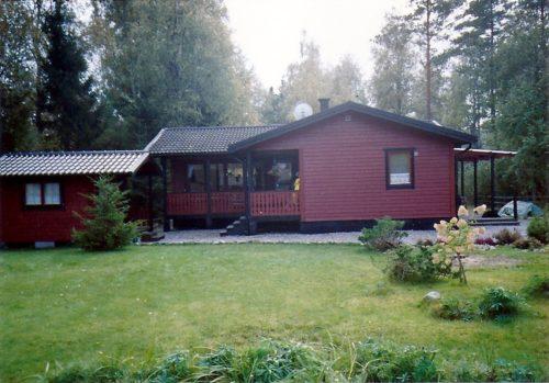 Außenansicht – Ferienhaus Rosendala