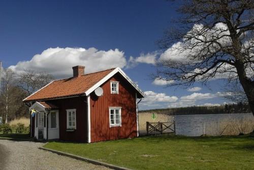 Außenansicht – Ferienhaus Seestuga