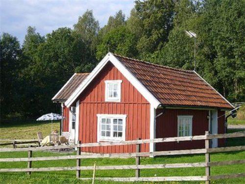 Außenansicht – Ferienhaus Vikenstuga