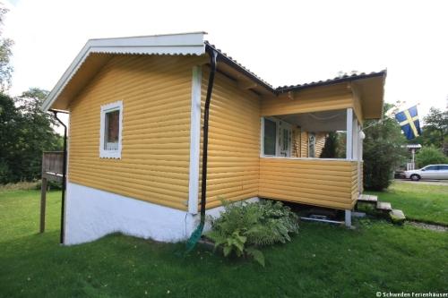 Außenansicht - Ferienhaus Gula Huset