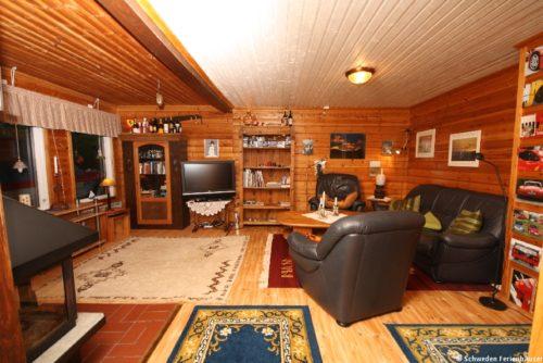 Wohnzimmer - Ferienhaus Gula Huset