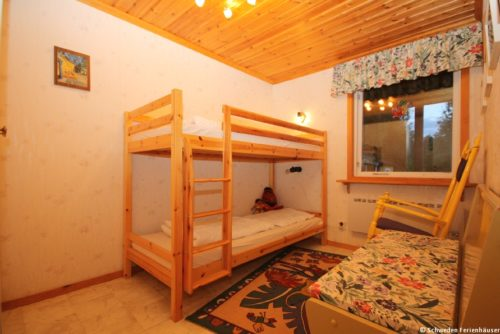 Schlafzimmer III - Ferienhaus Gula Huset