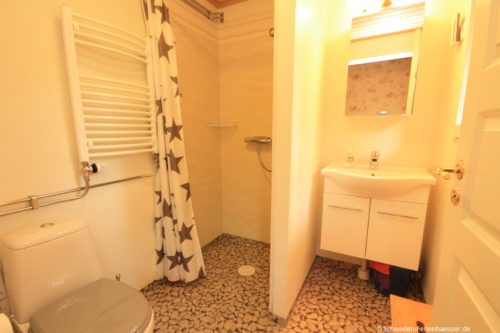 Badezimmer – Ferienhaus Ingrids Hus