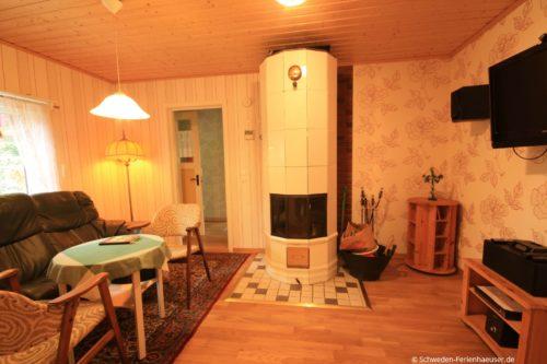 Wohnzimmer – Ferienhaus Ingrids Hus