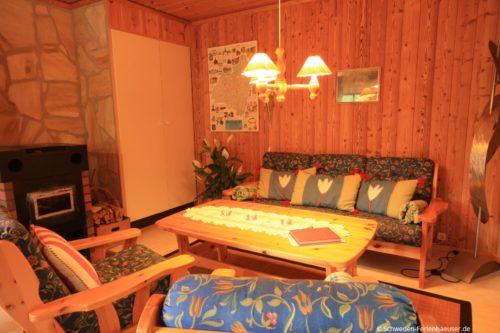 Wohn- /Essbereich – Ferienhaus Melltorp