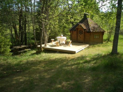 Grillhütte am See – Ferienhaus Mikael 1