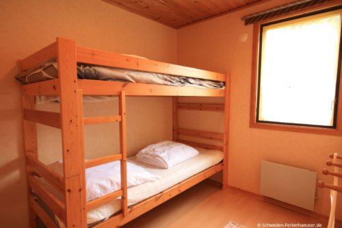 Schlafzimmer 3 – Ferienhaus Rosendala