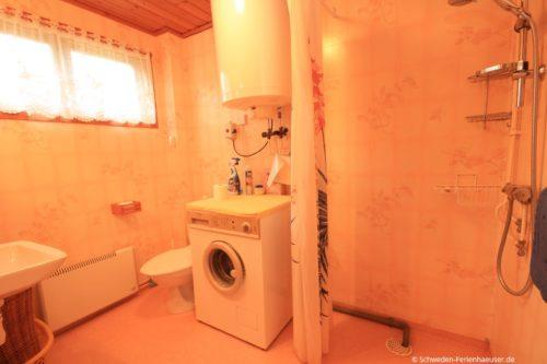 Badezimmer – Ferienhaus Rosendala