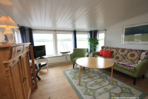 Wohnbereich – Ferienhaus Seestuga