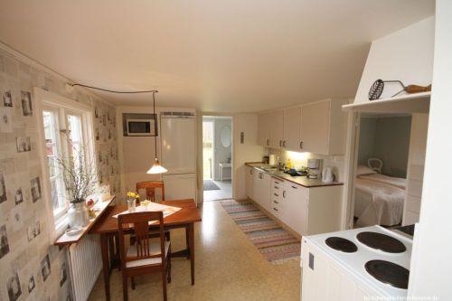 Küche mit Essplatz – Ferienhaus Varnum II