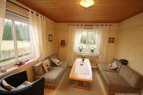 Wohnbereich – Ferienhaus Mårdaklev