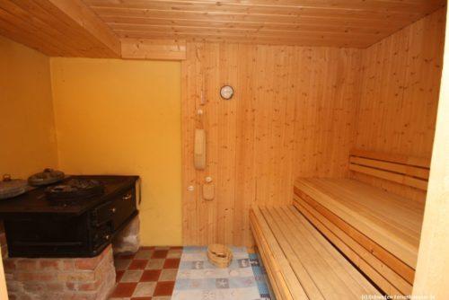 Sauna – Ferienhaus Mårdaklev