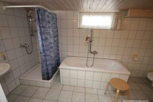 Badezimmer 2 – Ferienhaus Mårdaklev