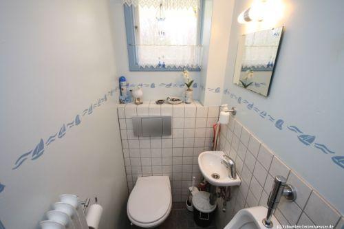 Gäste-WC – Ferienhaus Mårdaklev