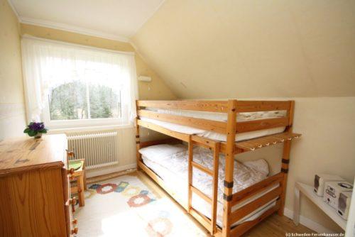 Schlafzimmer 2 – Ferienhaus Mårdaklev