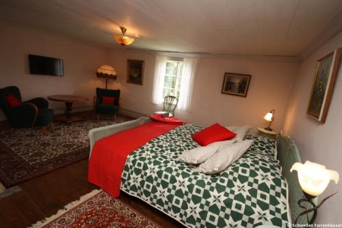 Schlafzimmer 4 – Ferienhaus Viken