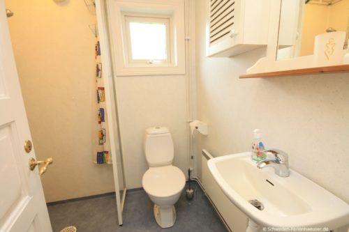 Badezimmer - Ferienhaus Vikenstuga