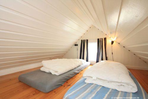 Schlafloft - Ferienhaus Vikenstuga