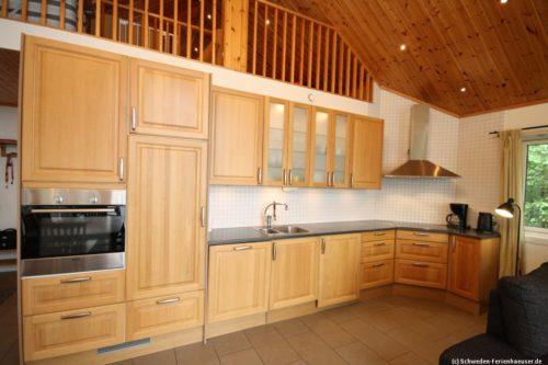 Küche im Wohn- /Essbereich – Ferienhaus John 74