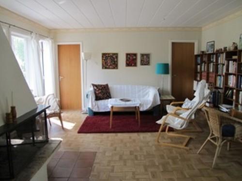 Wohnbereich - Ferienhaus Bäckvik
