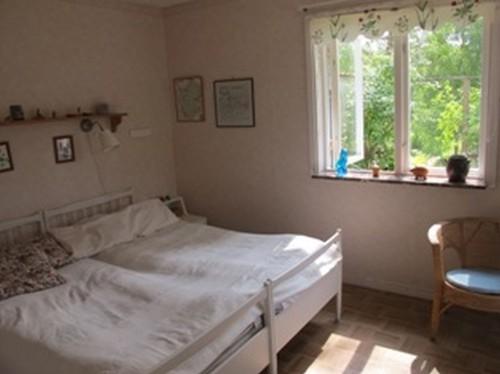 Schlafzimmer 1 - Ferienhaus Bäckvik