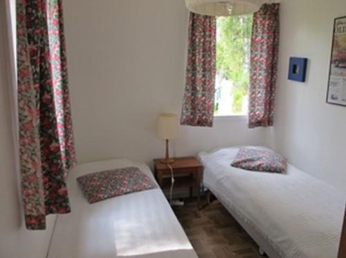 Schlafzimmer 2 - Ferienhaus Bäckvik