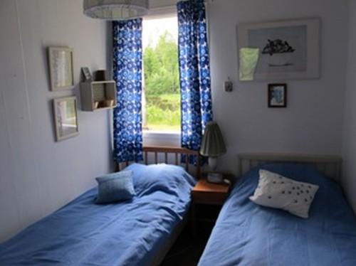 Schlafzimmer 3 - Ferienhaus Bäckvik