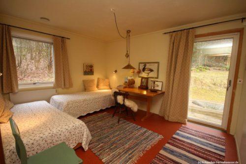 Schlafzimmer 3 – Ferienhaus Björka