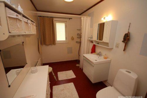 Badezimmer – Ferienhaus Björka