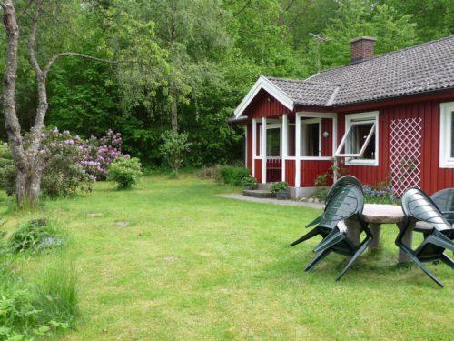 Außenansicht – Ferienhaus Björka