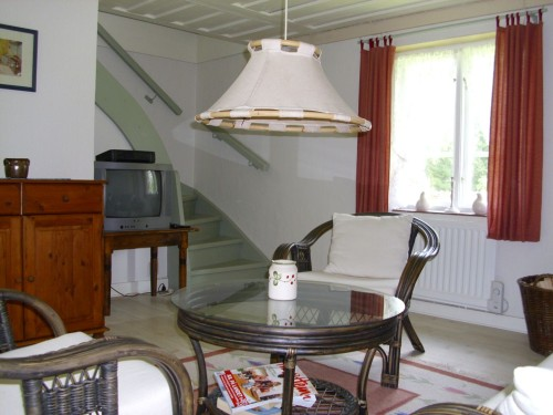 Wohnbereich - Ferienhaus Björkadal