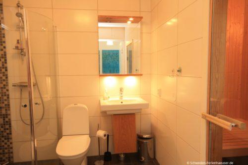 Badezimmer 1  – Ferienhaus Borrby