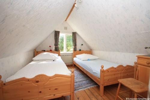 Schlafzimmer 1 – Ferienhaus Brandshult