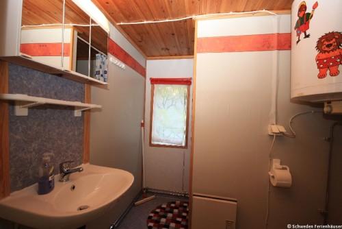 Badezimmer – Ferienhaus Brandshult