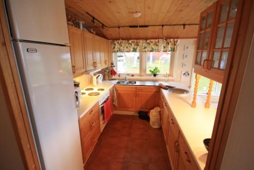 Küche – Ferienhaus Dennbo