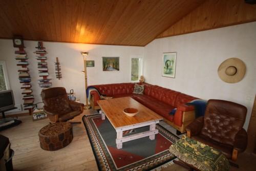 Wohnbereich – Ferienhaus Dennbo