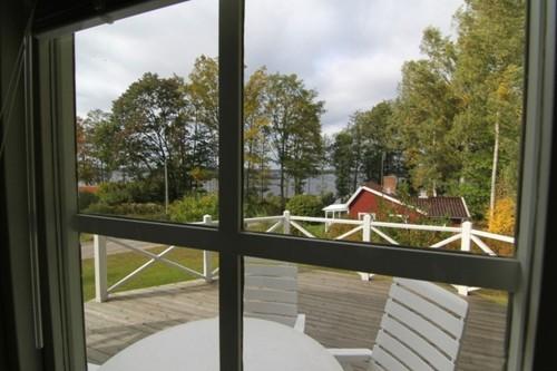 Blick aus dem Ferienhaus – Ferienhaus Dihult