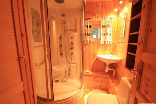 Badezimmer – Ferienhaus Dyp