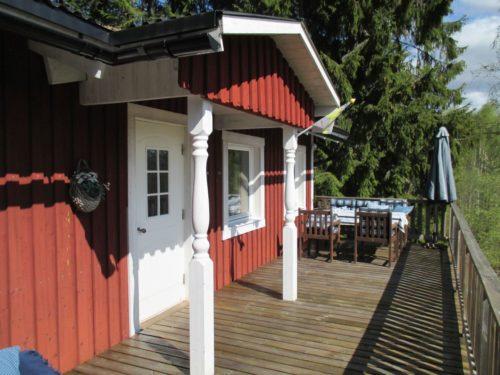 Terrasse – Ferienhaus Dyp